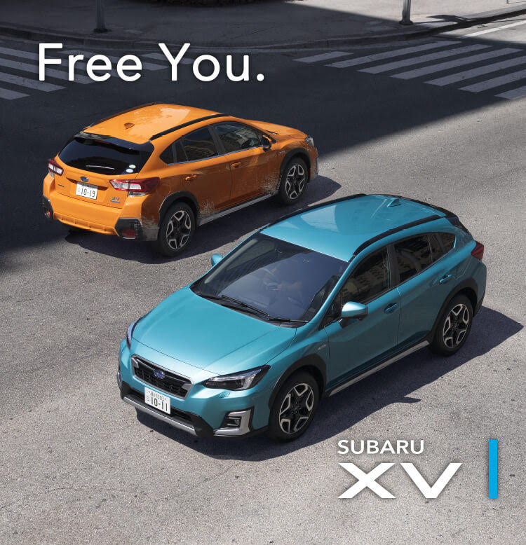 Free You. SUBARU XV