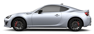 SUBARU BRZ STI Sport EyeSight サイドスタイル