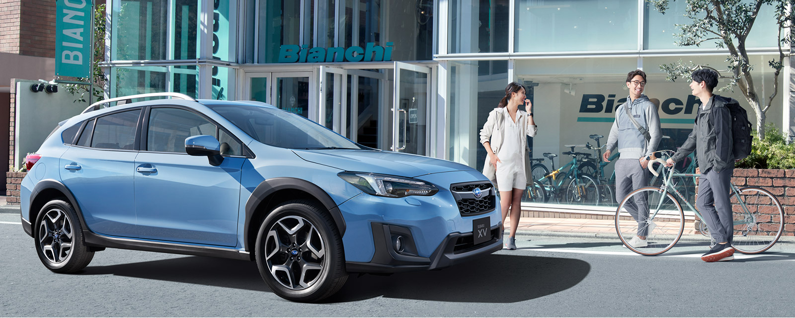 SUBARU XV 2.0i-S EyeSight サイドスタイル1